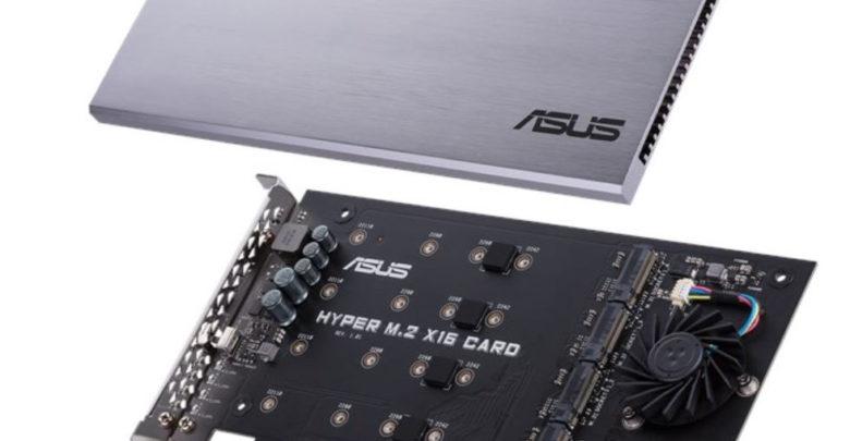 Photo of Asus Hyper M.2 x16 Riser Card, hasta cuatro discos NVMe en una ranura PCI Express