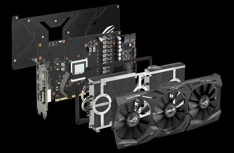 Asus Radeon RX Vega 64 Strix OC Edition