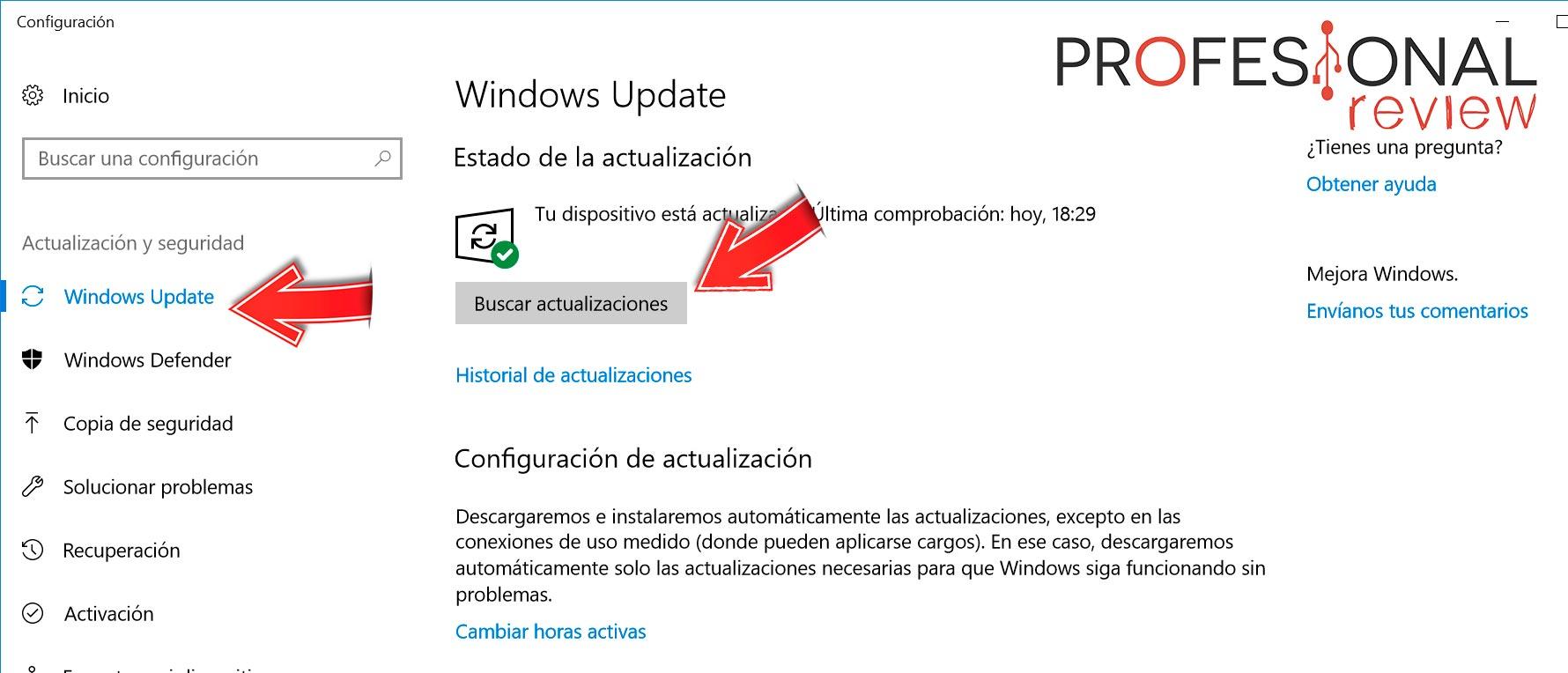 Como forzar la actualización de Windows 10 Fall Creators Update