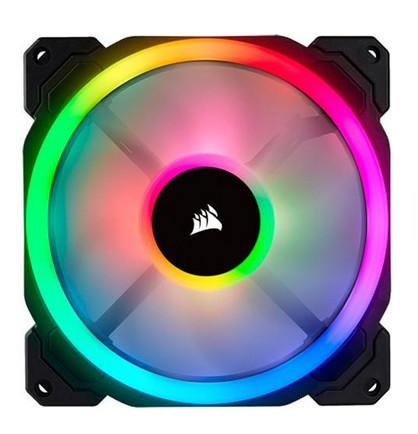 Corsair LL120 y LL140 con fuerte protagonismo del RGB