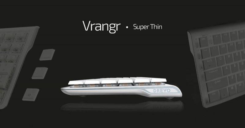 DrevoVrangr, un teclado mecánico diferente