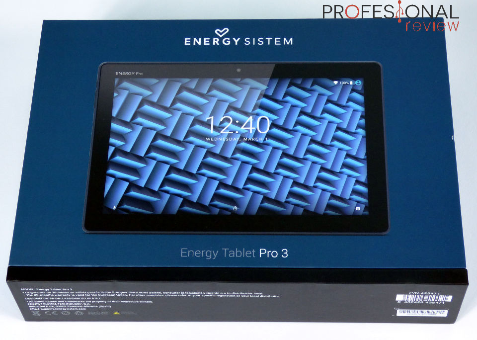 Energy Sistem Energy Tablet Pro 3 Review En Espa 241 Ol
