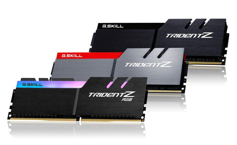 G.Skill Trident Z se pone al día para Intel Coffee Lake