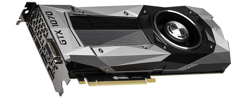 GeForce GTX 1070 Ti usará memorias a 9 Gbps