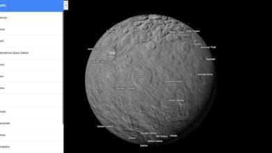 Photo of Explora más planetas y lunas con Google Maps