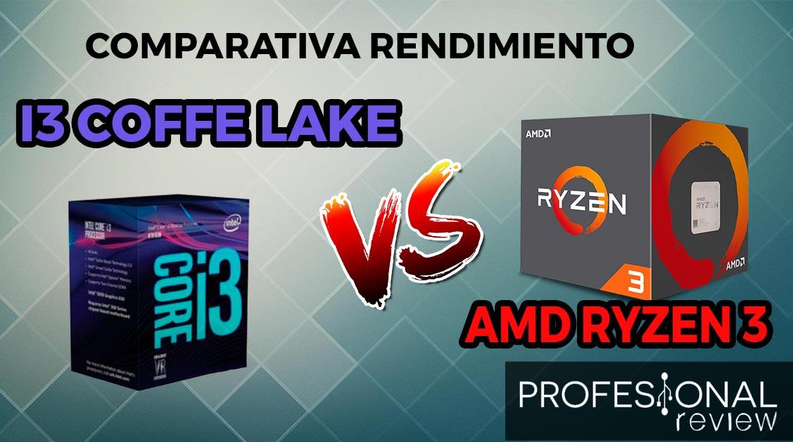 Intel Core i3 8100 vs i3 8350K vs AMD Ryzen 3 1200 vs AMD Ryzen 1300X