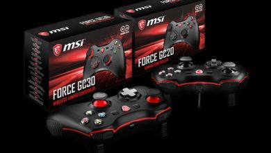 Photo of MSI Force GC30 y Force GC20 son los nuevos gamepad multiplataforma de la marca