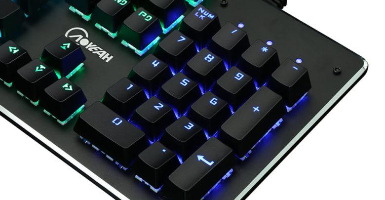 Photo of Llévate un descuento exclusivo en este teclado de juego AOYEAH