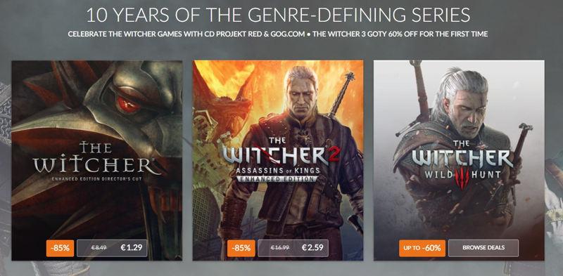 The Witcher ahora más barato que nunca