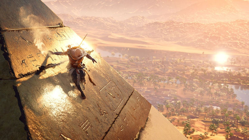 primer parche para Assassin's Creed Origins