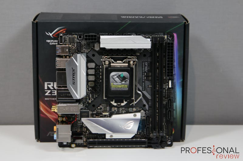 Asus ROG Strix Z370-i Gaming review