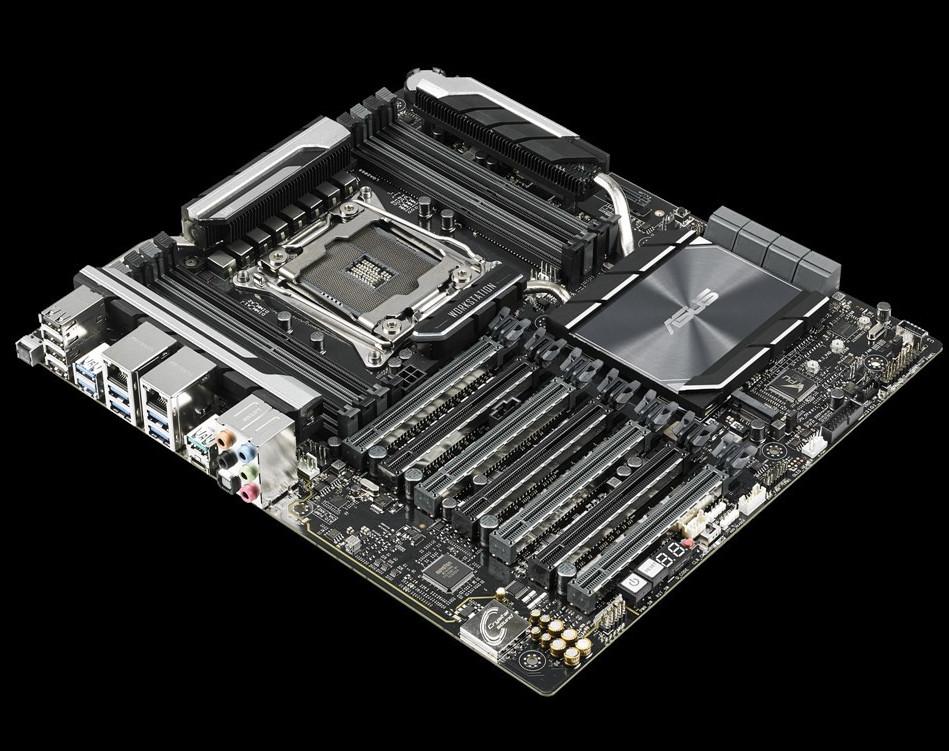AsusWS X299 SAGE con siete ranuras PCI Express