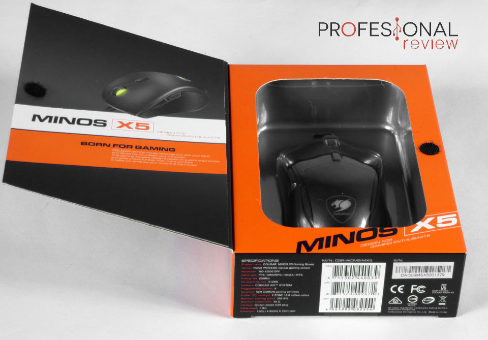 Cougar Minos X5 Review