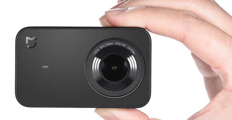 Photo of Aprovecha el descuento en la cámara deportiva Xiaomi Mijia 4K en TomTop