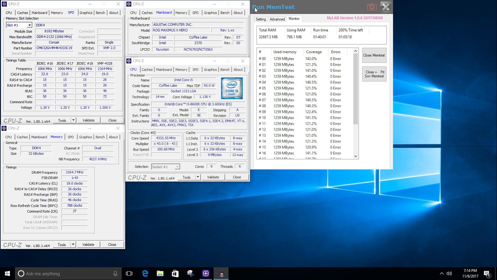 Corsair Vengeance LPX alcanza los 4333 MHz en 32 GB