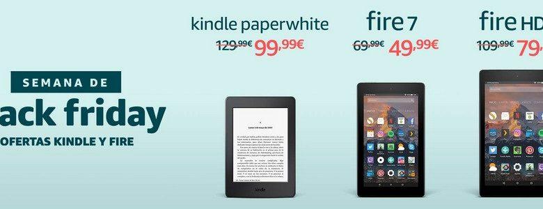 Photo of Kindle Paperwhite y nuevos Fire 7 y HD8: ofertas por Black Friday