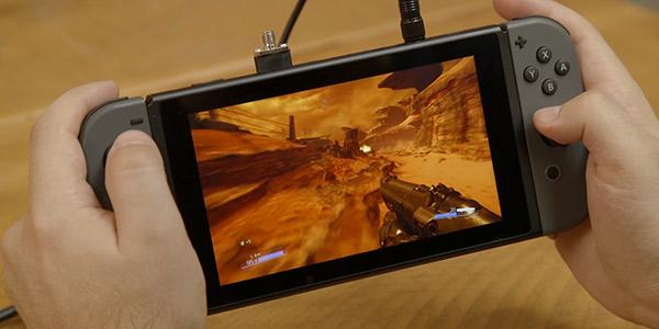 Doom es una experiencia excelente en la Nintendo Switch