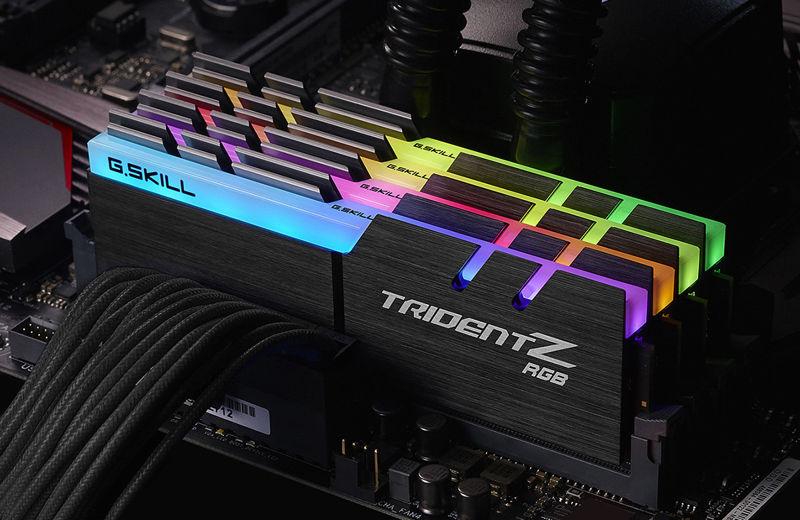 G.Skill Trident Z a 4266 MHz con una latencia CL17