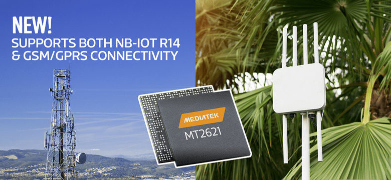 Photo of MediaTek revela el SoC MT2621 para IoT con módem integrado.
