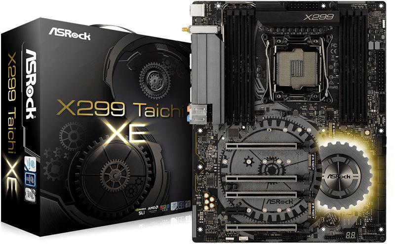 ASRock X299 Taichi XE y X299 Professional Gaming i9 XE