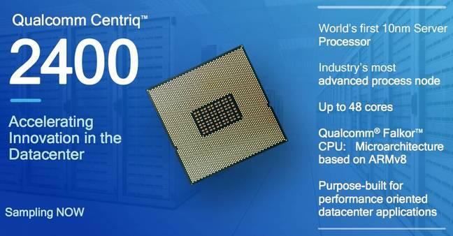 QualcommCentriq 2400 para dominar los servidores