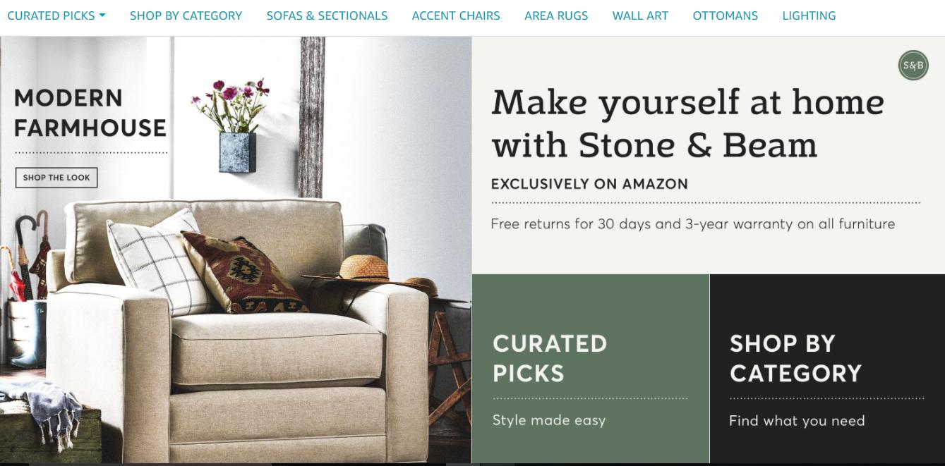 Amazon lanza su propia marca de muebles con env os gratuitos for Envio de muebles