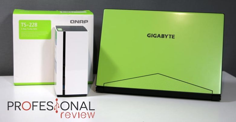 Photo of Beneficios de combinar un portátil GigabyteAero 15 y un NAS QNAP TS-228
