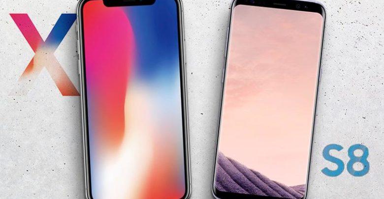 Photo of iPhone X vs Galaxy S8, ¿cuál de los dos es más resistente?