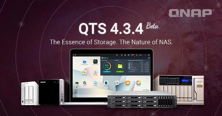 QNAP lanza el QTS 4.3.4 Beta
