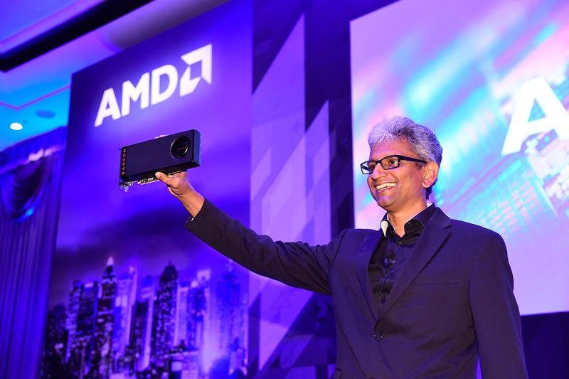 Raja Koduri deja AMD