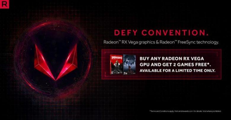 Photo of Los compradores de un RX VEGA obtendrán gratis Wolfenstein II y Prey