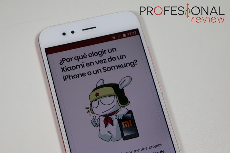 Xiaomi Mi A1 pantalla