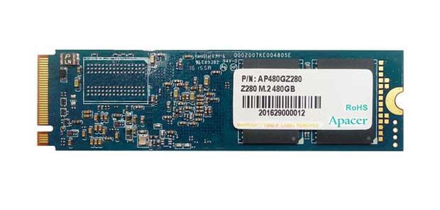 SSDs M.2 Apacer Z280 con memoria MLC