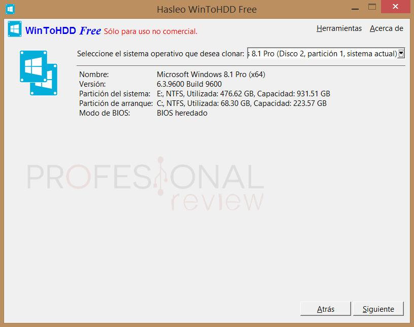 Cómo clonar tu disco duro a un SSD