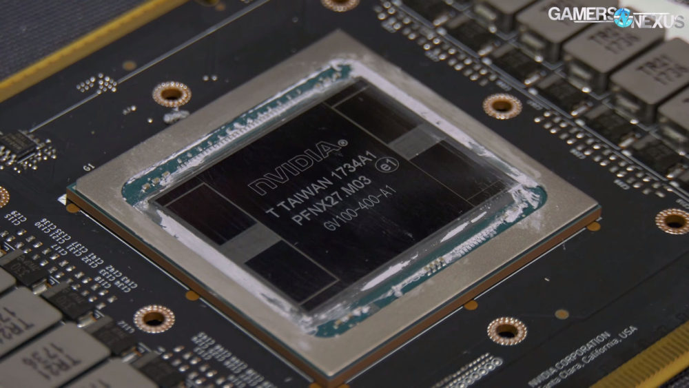 GeForce GTX Titan V deja ver su núcleo
