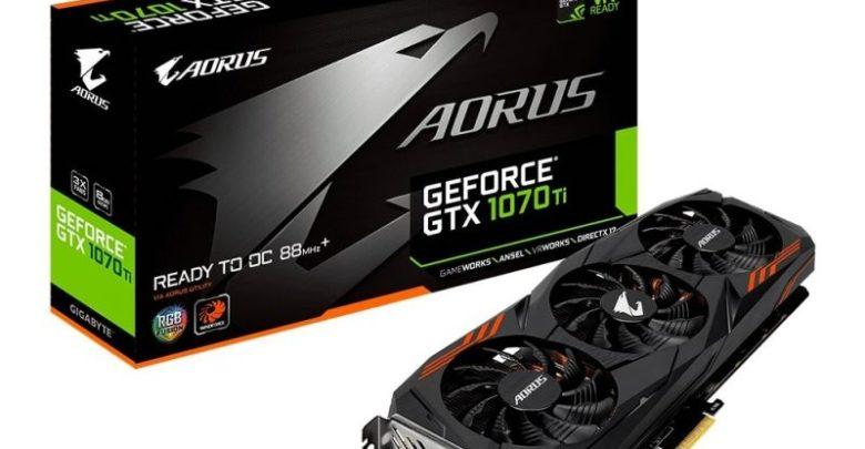 Photo of Gigabyte revela la tarjeta AORUS GeForce GTX 1070 Ti