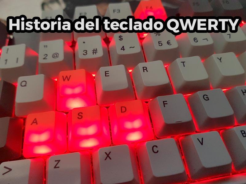Historia del teclado QWERTY
