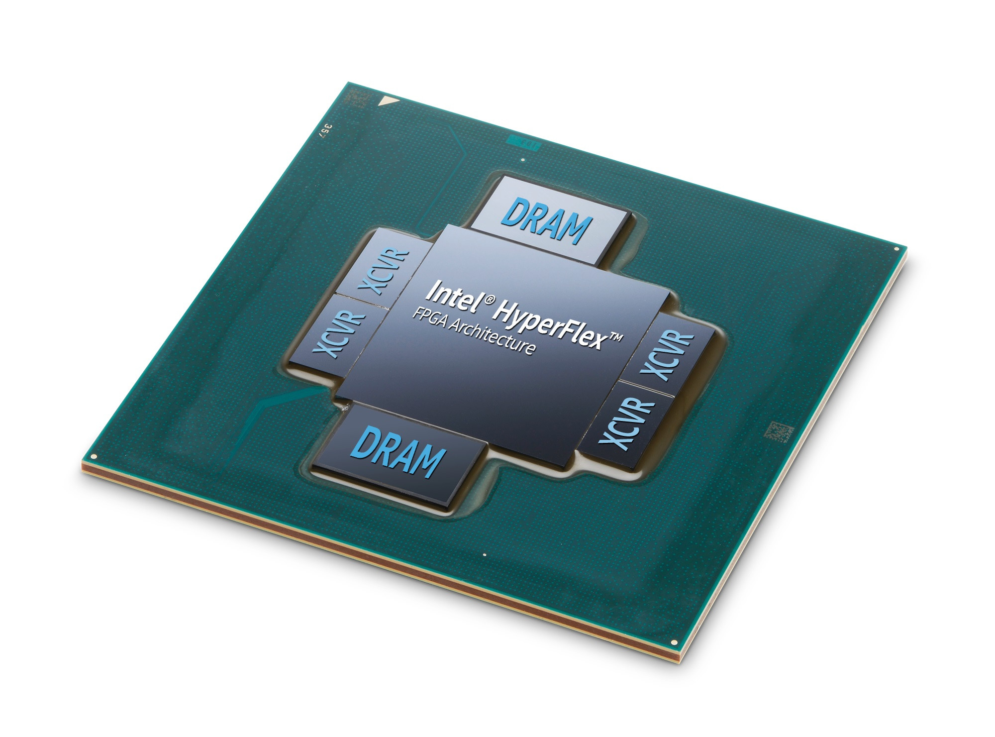 Intel Stratix 10MX FPGA con memoria HBM2