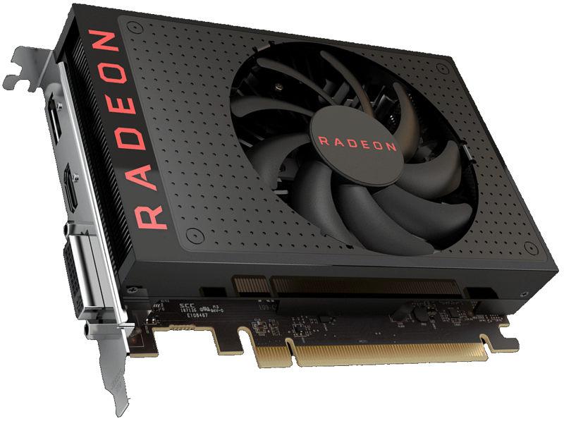Radeon RX 560 con 896 núcleos