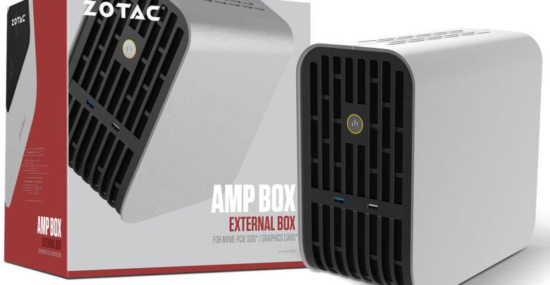 Photo of Nuevas cajas para tarjetas gráficas externas Zotac AMP Box