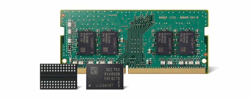 Samsung ya produce en masa DRAM con su segunda generación de 10 nm