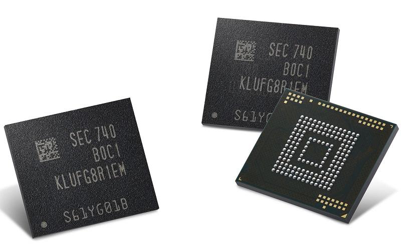 Samsung UFS de 512 GB