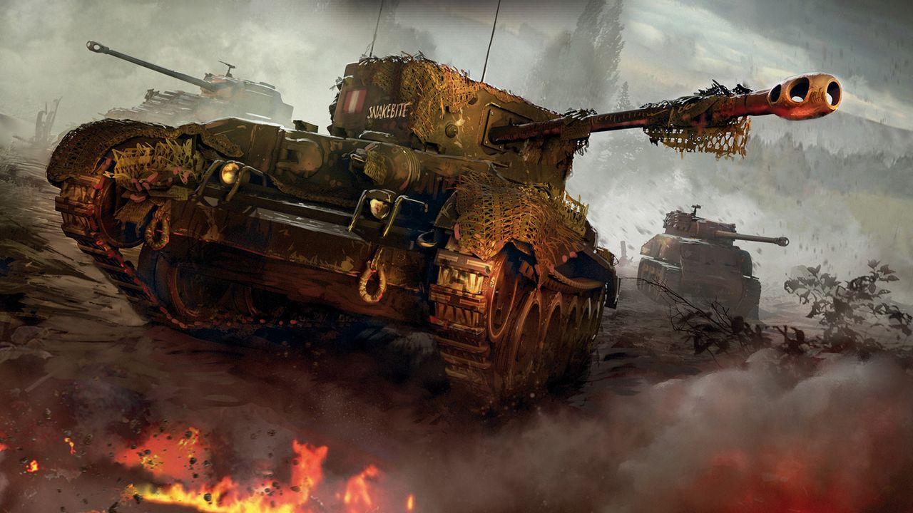 World of Tanks nuevo motor gráfico