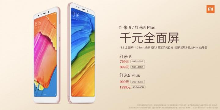 Photo of Los Xiaomi Redmi 5 y Redmi 5 Plus son oficiales