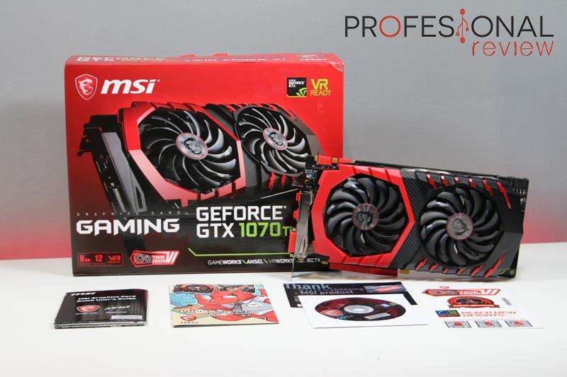 MSI GTX 1070 Ti GAMING