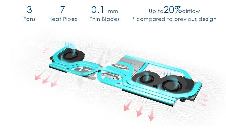 Portátil MSI Cooler Boost