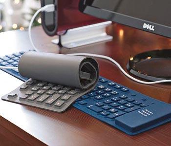 teclado goma flexible