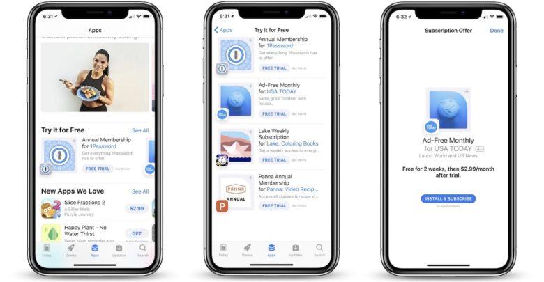 Photo of Apple promociona apps basadas en suscripciones con prueba gratis en la App Store