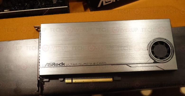 Photo of ASRock anuncia su nueva tarjeta Ultra Quad M.2