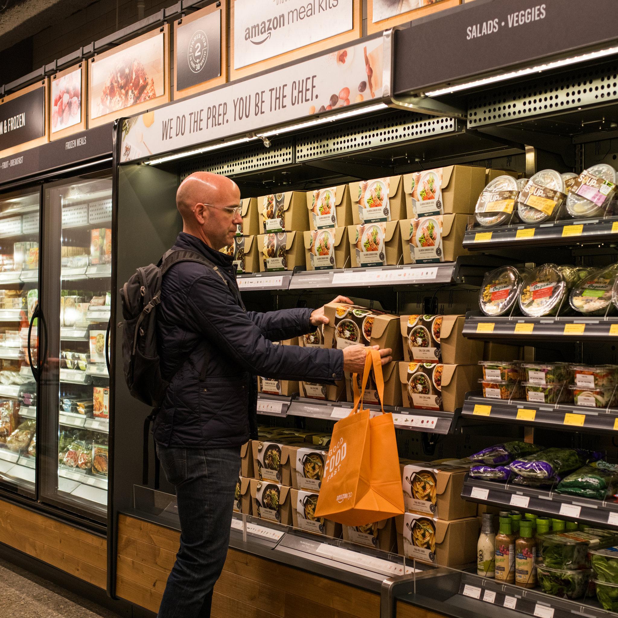 Amazon Go revoluciona el comercio físico